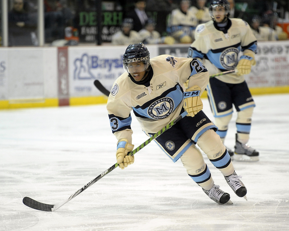 Devante Smith-Pelly of the Mississauga St. Michael's Majors. Photo by Aaron Bell/OHL Images
