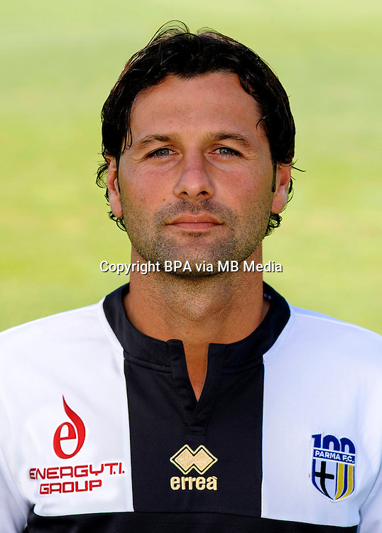 Italian League Serie A -2014-2015 / <br /> ( Parma F.C. ) - <br /> Massimo Gobbi