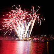 Queenstown Festival Opening Ceremony Firework Display