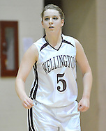 Vermilion at Wellington girls varsity basketball on December 6, 2010 at Midview High School.