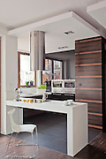 Modern contemporary apartment interior in Warsaw Poland photography by Piotr Gesicki
