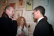 JOHNNIE SHAND-KYDD; KELLY HOPPEN; ALEX TURNBULL, Vanity Fair  hosted  UK Premiere and party for Beyond Time. A film about the artist William Turnbull made by his son Alex Turnbull. Narrated by Jude Law. I.C.A. London. 17 November 2011<br /> <br />  , -DO NOT ARCHIVE-© Copyright Photograph by Dafydd Jones. 248 Clapham Rd. London SW9 0PZ. Tel 0207 820 0771. www.dafjones.com.
