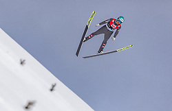 11.03.2019, Lysgards Schanze, Lillehammer, NOR, FIS Weltcup Skisprung, Raw Air, Lillehammer, Qualifikation, Herren, im Bild Michael Hayboeck (AUT) // Michael Hayboeck of Austria during the men's qualification of the 2nd Stage of the Raw Air Series of FIS Ski Jumping World Cup at the Lysgards Schanze in Lillehammer, Norway on 2019/03/11. EXPA Pictures © 2019, PhotoCredit: EXPA/ JFK
