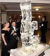 Wendy and Vince Lewis take a look at the martini fountain at The Masterpiece Ball, an evening with the Great Chefs, the 2010 2009 Opera Guild Gala at the Dayton Masonic Center, Saturday, March 13, 2010.  Wendy says, 'I just love the fountain.  That's the only reason I got the drink.'