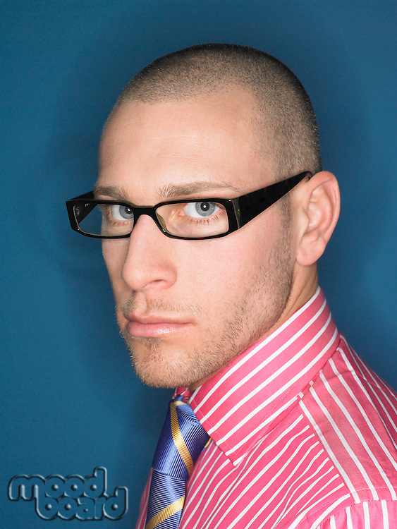 Businessman Wearing Spectacles
