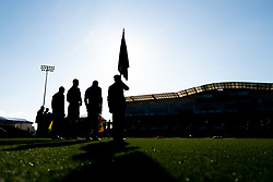 The Remembrance Service takes place at the Memorial Stadium prior to kick off - Mandatory by-line: Ryan Hiscott/JMP - 10/11/2019 - FOOTBALL - Memorial Stadium - Bristol, England - Bristol Rovers v Bromley - Emirates FA Cup first round
