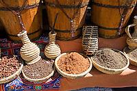 Sharm el Sheikh Egypt spices on market