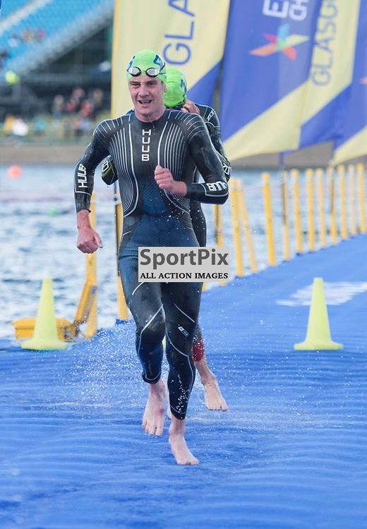 Great Britain's Alistair Brownlee in action in the Men's Elite Standard Race, ETU Triathlon,  European Championships, Strathclyde Park, Motherwell Scotland, Friday 10 August 2018, (c) Angie Isac | SportPix.org.uk