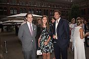 LORD FREDERICK WINDSOR; LADY NATASHA RUFUS-ISAACS, V & A Summer party. South Kensington. London. 22 June 2016