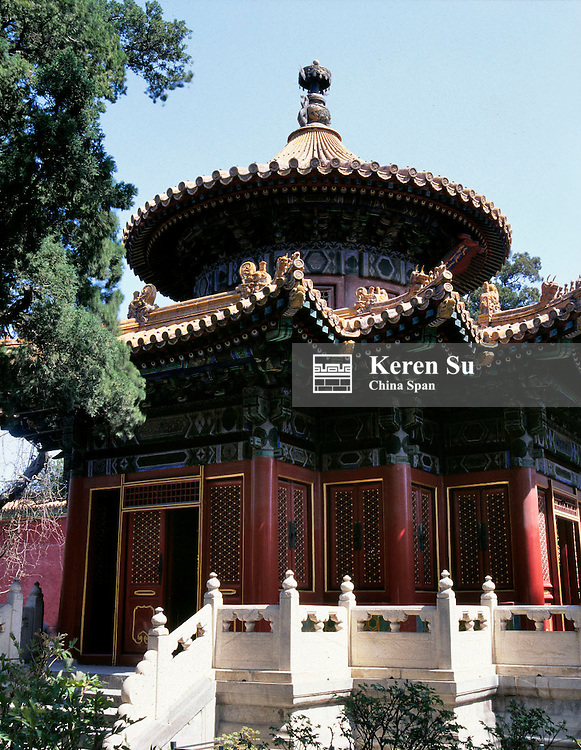 A pavilion in the Summer Palace, Beijing, China
