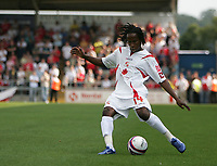 Photo: Lee Earle. <br /> Northampton Town v Swindon Town. Coca Cola Championship. 11/08/2007. <br /> Swindon's summer signing Miguel Comminges.