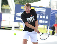 Brodies Champions of Tennis.<br /> Mikael Pernfors takes on Wayne Ferreira  in the second match of the tournament.<br /> Pic shows: Wayne Ferreira in action.