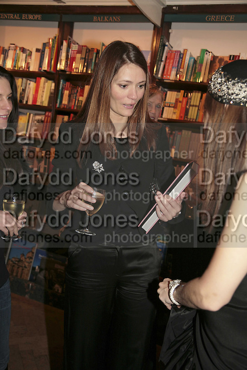 Plum Sykes, Book launch of Pretty Things by Liz Goldwyn at Daunt <br />
