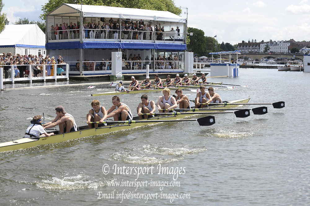 Henley, Great Britain. Berks Station Pangbourne College vs Shrewsbury School in a heat of the Princess Elizabeth Challenge  Cup.  2009 Henley Royal Regatta Friday 03/07/2009 at  [Mandatory Credit. Peter Spurrier/Intersport Images] . HRR.