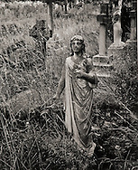 Decayed Statuary, Old Brompton Cemetery, London
