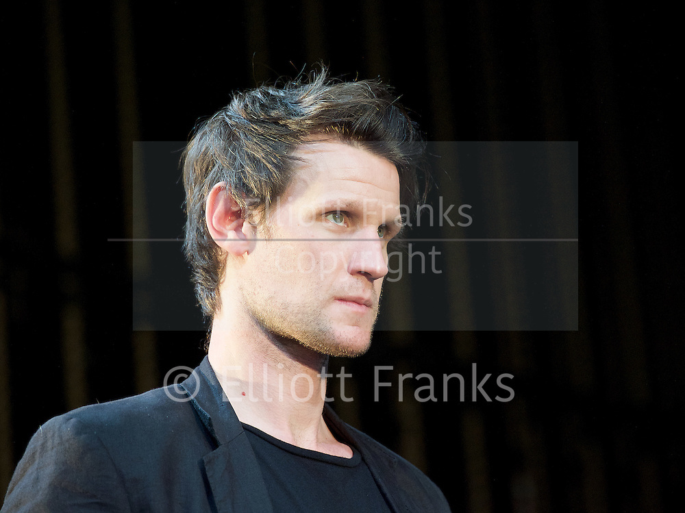 Unreachable <br /> written &amp; directed by Anthony Neilson <br /> at The Royal Court Theatre, London, Great Britain <br /> press photocall<br /> 6th July 2016 <br /> <br /> Matt Smith <br /> <br /> <br /> Photograph by Elliott Franks <br /> Image licensed to Elliott Franks Photography Services
