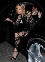 Kate Moss attends the Alexander McQueen: Savage Beauty - press view at the Victoria & Albert Museum in London, UK. 12/03/2015<br />BYLINE MUST READ : GOTCHAIMAGES.COM<br /><br />Copyright by © Gotcha Images Ltd. All rights reserved.<br />Usage of this image is conditional upon the acceptance <br />of Gotcha Images Ltd, terms and conditions available at<br />www.gotchaimages.com