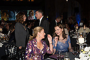 ANNA FRIEL; STEVE COOGAN; LADY JENNIFER STRINGER;  GEENA DAVIS; , Luminous -Celebrating British Film and British Film Talent,  BFI gala dinner & auction. Guildhall. City of London. 6 October 2015.