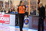 DESCRIZIONE : Brindisi Lega serie A 2013/14 Enel Brindisi Acea Virtus Roma<br /> GIOCATORE : Arbitro<br /> CATEGORIA : Arbitro<br /> SQUADRA : Arbitro<br /> EVENTO : Campionato Lega Serie A 2013-2014<br /> GARA : Enel Brindisi Acea Virtus Roma <br /> DATA : 26/01/2014<br /> SPORT : Pallacanestro<br /> AUTORE : Agenzia Ciamillo-Castoria/GiulioCiamillo<br /> Galleria : Lega Seria A 2013-2014<br /> Fotonotizia : Brindisi Lega serie A 2013/14 Enel Brindisi Acea Virtus Roma<br /> Predefinita :