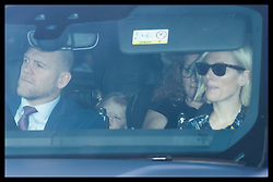 December 18, 2019, London, London, United Kingdom: Image licensed to i-Images Picture Agency. 18/12/2019. London, United Kingdom. Mike and Zara Tindall  arriving at  The Queen's Christmas Party at Buckingham Palace in London  (Credit Image: © Stephen Lock/i-Images via ZUMA Press)