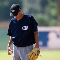 Baseball - MLB European Academy - Tirrenia (Italy) - 22/08/2009 - Joris Navarro (France)