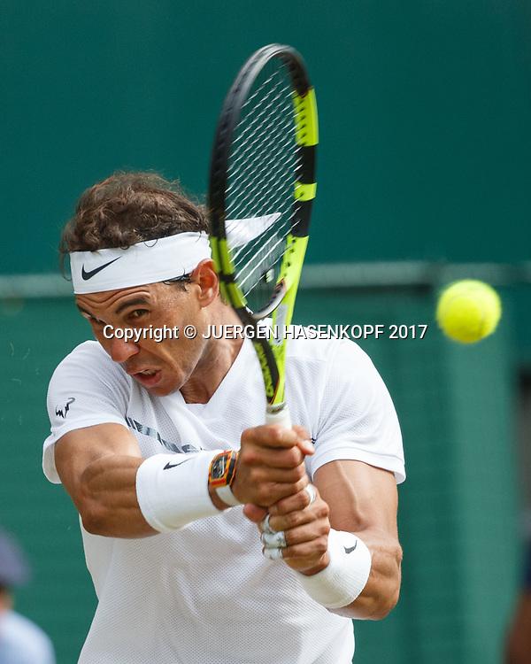 RAFAEL NADAL (ESP)<br /> <br /> Tennis - Wimbledon 2017 - Grand Slam ITF / ATP / WTA -  AELTC - London -  - Great Britain  - 7 July 2017.