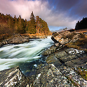 HONORABLE MENTION - International photography awards <br /> <br /> River Orchy in winter spate, Glen Orchy