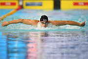 James Guy (GBR) competes on Men's 200 m Butterfly during the Swimming European Championships Glasgow 2018, at Tollcross International Swimming Centre, in Glasgow, Great Britain, Day 3, on August 4, 2018 - Photo Stephane Kempinaire / KMSP / ProSportsImages / DPPI