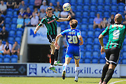 Ian Henderson during the Sky Bet League 1 match between Colchester United and Rochdale at the Weston Homes Community Stadium, Colchester, England on 8 May 2016. Photo by Daniel Youngs.