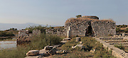 The Seljuk Baths, Miletus, Aydin, Turkey. Seljuk Turks conquered the city in the 14th century and used Miletus as a port to trade with Venice. Miletus was an Ancient Greek city on the Western coast of Anatolia. Although settlement began here millennia ago, its heyday was in the Hellenistic and Roman periods. The city was finally abandoned in the Ottoman era when the harbours silted up. Picture by Manuel Cohen