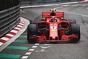 May 23-27, 2018: Monaco Grand Prix. Kimi Raikkonen (FIN), Scuderia Ferrari, SF71H