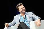 CANNES, FRANCE - JUNE 21:  ÊiHeartMedia presents a fireside chat about driving creativity and success with Ryan Seacrest and eight time Grammy winner Usher on the main stage at Lumire Theater, Palais des Festivals during the Cannes Lions Festival on June 21, 2016 in Cannes, France.  (Photo by Tony Barson/Getty Images for iHeartMedia)