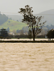 Northland-Heavy rain falls causes more flooding of Hikurangi swamp
