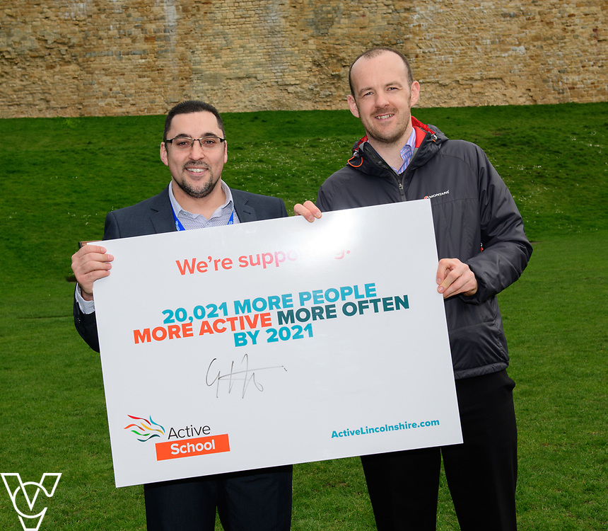 Launch of Active Lincolnshire held at Lincoln Castle.<br /> <br /> Picture: Chris Vaughan Photography for Active Lincolnshire<br /> Date: March 31, 2017