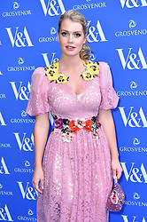 Lady Kitty Spencer attending the private view of Frida Kahlo: Making Her Self Up exhibition, at the V&A, London. Picture date: Wednesday June 13th, 2018. Photo credit should read: Matt Crossick/ EMPICS Entertainment.
