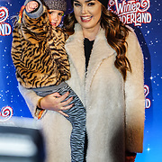 London, England, UK. 16th November 2017. Tamara Ecclestone (R) and her daughter Sophia Eccelstone-Rutland attend the VIP launch of Hyde Park Winter Wonderland 2017 for a preview. tomorrow is opening for the public
