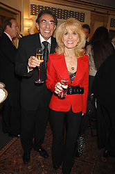 MICHAEL & JULIE BLACK at a tribute lunch for Elaine Paige hosted by the Lady Taverners at The Dorchester, Park Lane, London on 13th November 2007.<br /><br />NON EXCLUSIVE - WORLD RIGHTS