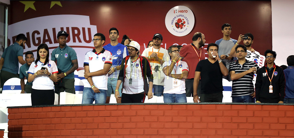 Hospitality Area during match 10 of the Hero Indian Super League between Bengaluru FC and Delhi Dynamos FC held at the Sree Kanteerava Stadium, Bangalore, India on the 26th November 2017<br /> <br /> Photo by: Sandeep Shetty  / ISL / SPORTZPICS
