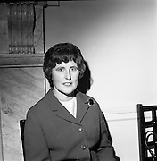 23/11/1964<br /> 11/12/1964<br /> 23 November 1964<br /> <br /> 19 Sales Girls from various parts of Ireland, at a Presentation in the Royal Hibernian Hotel <br /> <br /> Miss Theresa McLaughlin, Newells, Dublin