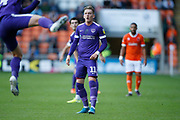 Ronan Curtis of Portsmouth during the EFL Sky Bet League 1 match between Blackpool and Portsmouth at Bloomfield Road, Blackpool, England on 31 August 2019.