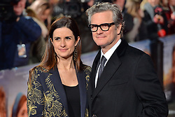 © Licensed to London News Pictures. 06/02/2018. LIVIA FIRTH and COLIN FIRTH attend the world film premiere of The Mercy. London, UK. Photo credit: Ray Tang/LNP