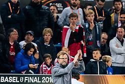 18.05.2016, St. Jakob Park, Basel, SUI, UEFA EL, FC Liverpool vs Sevilla FC, Finale, im Bild Trainer Juergen Klopp (FC Liverpool) // Trainer Juergen Klopp (FC Liverpool) during the Final Match of the UEFA Europaleague between FC Liverpool and Sevilla FC at the St. Jakob Park in Basel, Switzerland on 2016/05/18. EXPA Pictures © 2016, PhotoCredit: EXPA/ JFK
