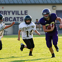 09-10-15 Berryville 7th Grade Football vs West Fork