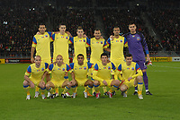 Football - UEFA Europa League - FC Utrecht vs. Steaua Bucharest. Steaua team photo. Rear l-r, Eder Bonfim, Florin Gardos, Bogdan Stancu, Ricardo Gomes, Geraldo Alves, Ciprian Tatarusanu. <br />