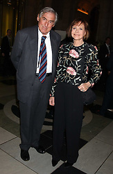 MARK LITTMAN QC and his wife MARGARIETTE LITTMAN at the opening of a new exhibition 'Diane Arbus Revelations' a major retospective of the Legendary New York Photographer at the V&A museum on 11th October 2005.<br /><br />NON EXCLUSIVE - WORLD RIGHTS