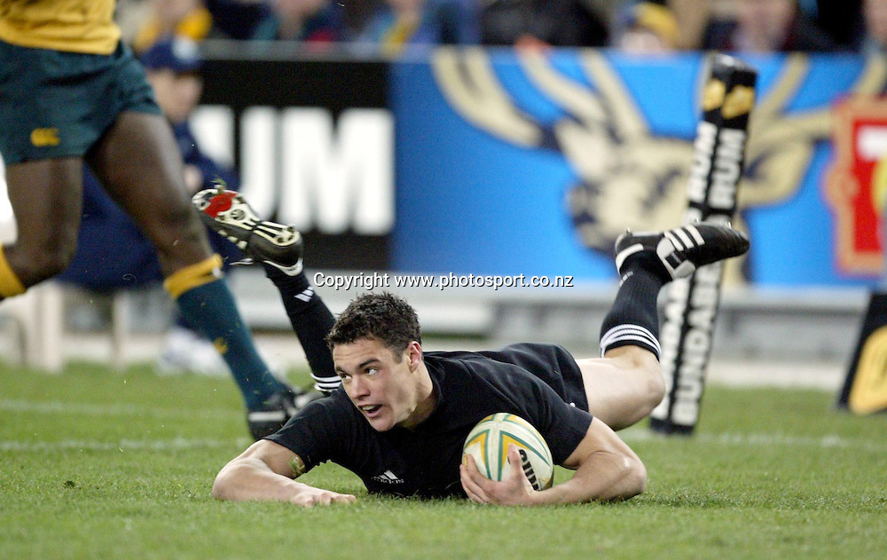 26th July, 2003. Telstra Stadium, Sydney, Australia. Bledisloe Cup. All Blacks v Wallabies. <br />