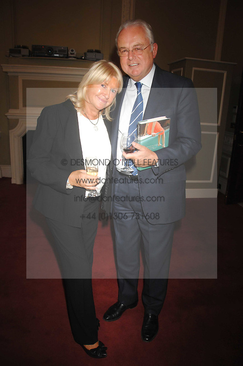 MARTIN LEWIS and PATSY BAKER at a party to celebrate the publication of Sandra Howard's book 'Ursula's Stor' held at The British Academy, 10 Carlton House Terace, London on 4th September 2007.<br />