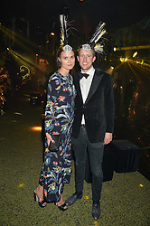 GEORGE FROST and EMMA BORGERHOFF-MULDER at The Animal Ball presented by Elephant Family held at Victoria House, Bloomsbury Square, London on 22nd November 2016.