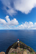 Lighthouse, Makapuu, Oahu, Hawaii
