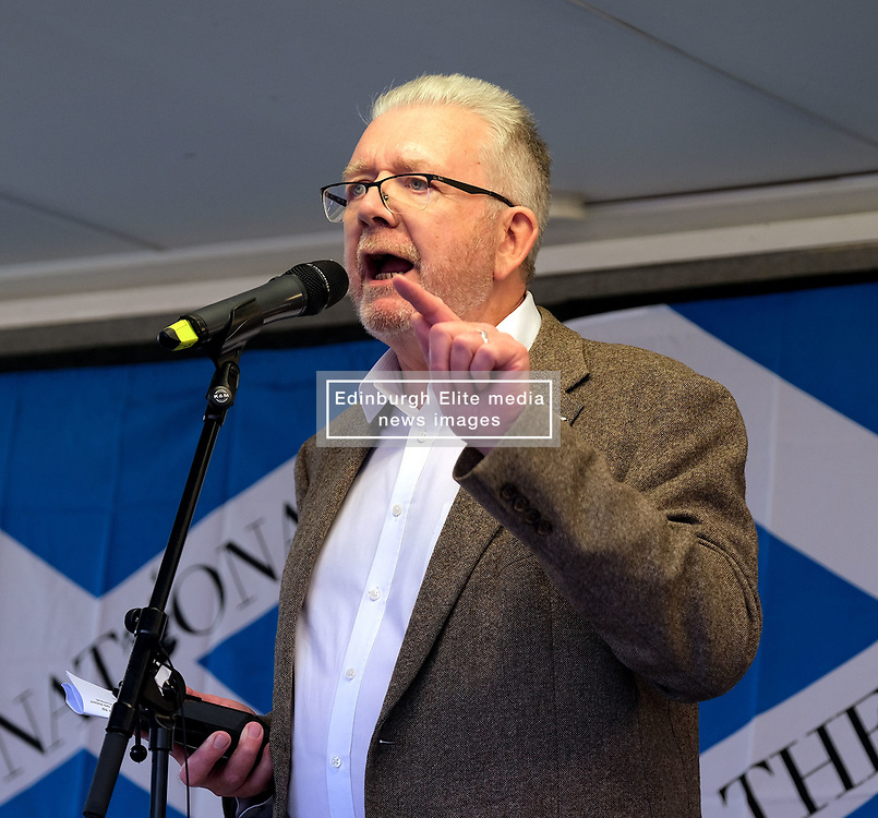 Independence Rally, Glasgow, Saturday 2nd November 2019<br /> <br /> Pictured: Michael Russell MSP<br /> <br /> Alex Todd   Edinburgh Elite media